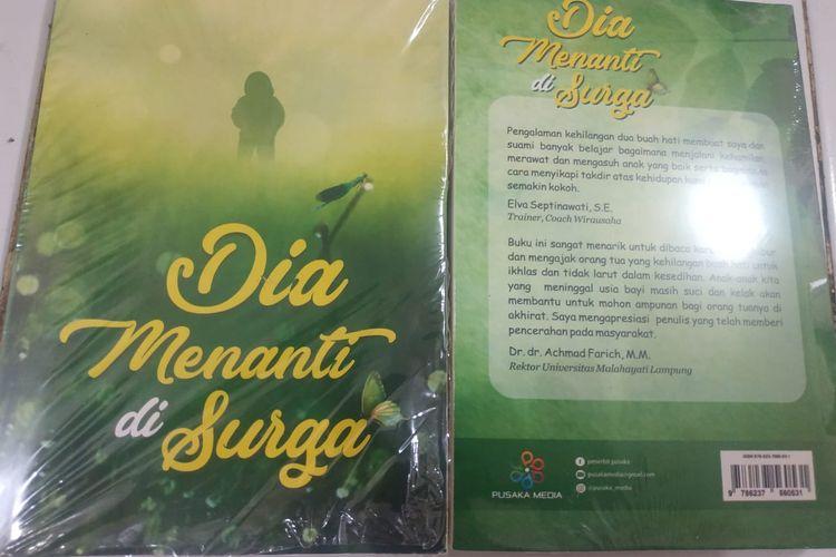 Buku Dia Menanti di Surga karya Fadilasari. (FOTO: dok. Fadilasari)
