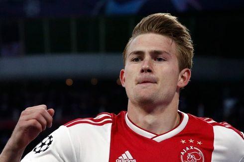 Juventus Sepakat dengan De Ligt, tetapi Belum dengan Ajax