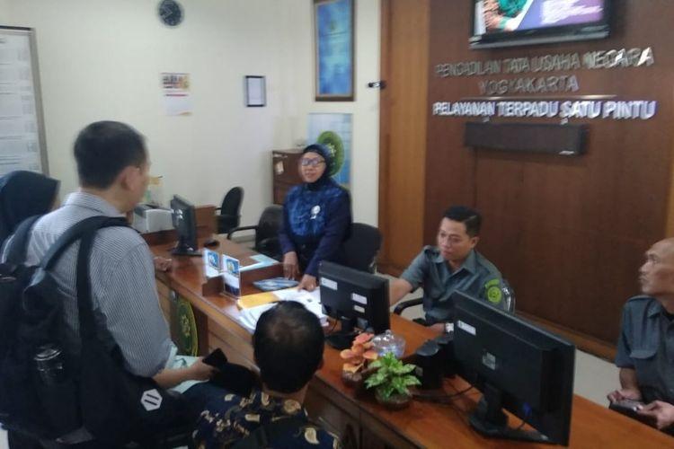 Gugatan atas Pencabutan IMB Gereja Pantekosta di Indonesia, di PTUN Yogyakarta Senin (21/10/2019)