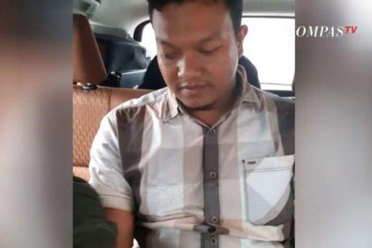 Muchsin Kamal yang menjual pistol kepada Zakiah Aini, penyerang Mabes Polri, Rabu (31/3/2021) ditangkap di Aceh.