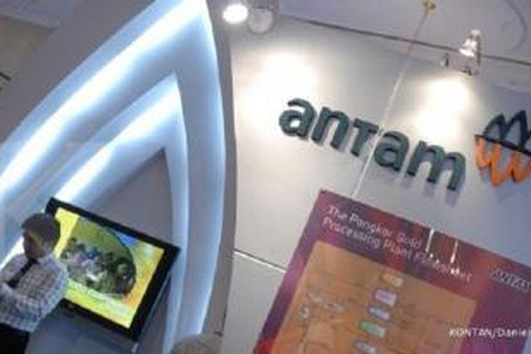 Ilustrasi kantor Antam