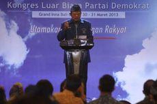 Demokrat Masih Butuh SBY untuk Dongkrak Elektabilitas