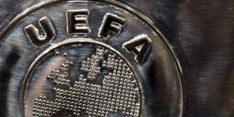 Logo UEFA.