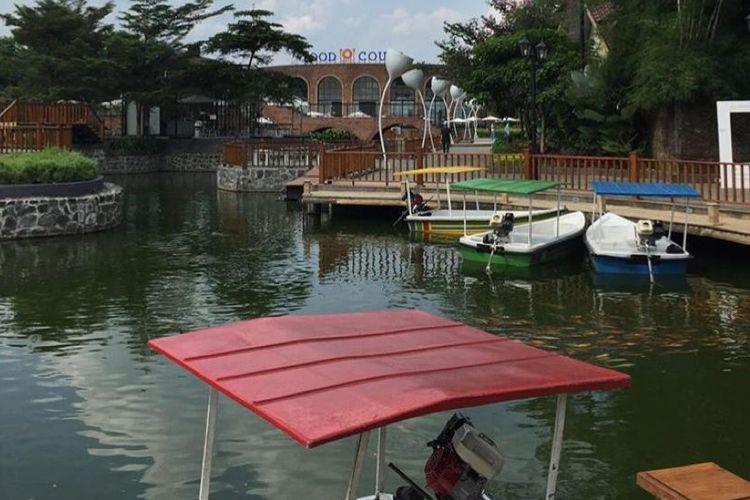 Salah satu wahana yang ada di Desa Pandak, di Jawa Tengah merancang konsep wisata modern berstandar internasional.