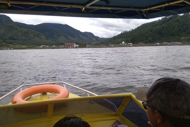 Ilustrasi speedboat