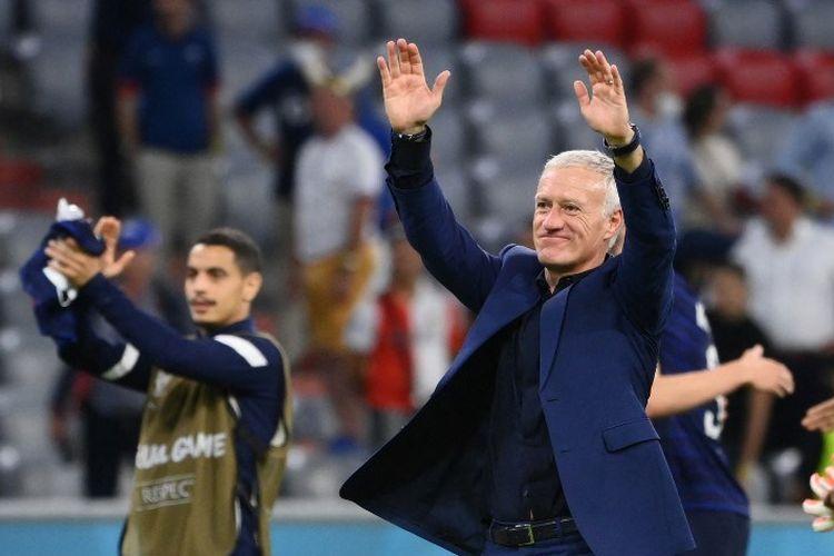 Pelatih Timnas Perancis Didier Deschamps mengakui timnya bermain solid dalam laga kontra Timnas Jerman yang berlangsung dalam intensitas tinggi pada Rabu (16/6/2021) dini hari WIB.