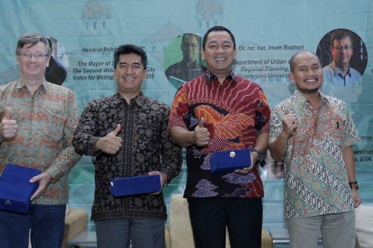 Wali Kota Hendi: Dengan Smart City Semarang Sukses Hadapi 2 Tantangan Besar