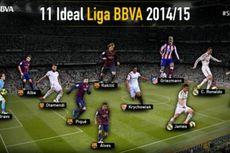Skuad Terbaik Liga Spanyol: Barcelona 6 Plus 1, Real Madrid 2