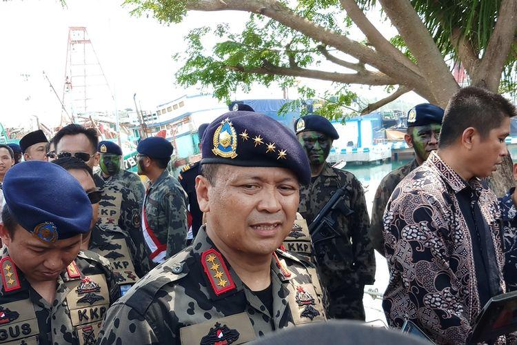 Menteri Kelautan dan Perikanan (KKP) Edhy Prabowo menegaskan, ke depan tidak ada lagi penenggelaman kapal.