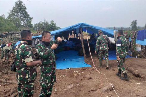 Cerita Petugas TNI Rela Tidur di Kawasan Kebakaran Lahan demi Padamkan Api di Riau