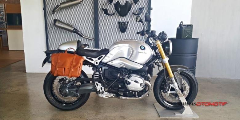 Model baru BMW Motorrad di Indonesia.