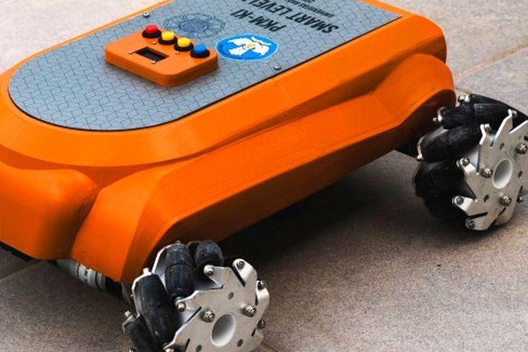 Robot pintar karya tim mahasiswa dari Sekolah Vokasi Universitas Gadjah Mada (UGM).