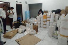 Polisi Gerebek Gudang Penyimpanan dan Produksi Obat Ilegal di Bogor