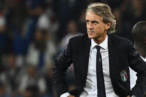 Bosnia-Herzegovina Vs Italia, Rekor Mancini bersama Tim Azzurri