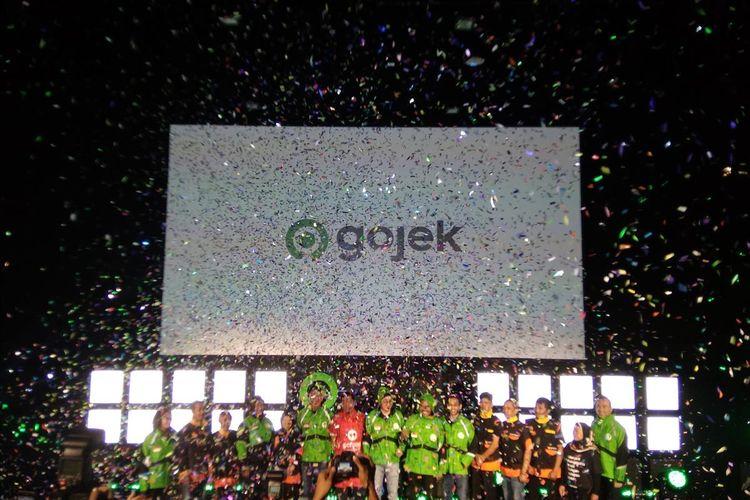 Konferensi Pers Gojek meresmikan logo baru bernama