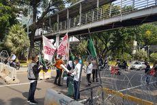 Ada Demo Tolak UU Cipta Kerja, Jalan Medan Merdaka Barat Ditutup Selasa Pagi