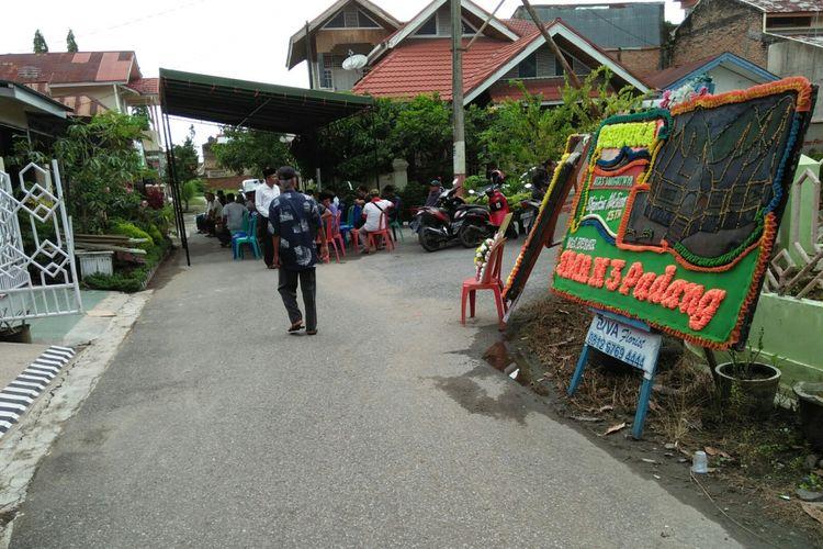 Suasana di rumah  Almarhum Shintia Melina korban Lion Air, Jumat (9/11/2018)