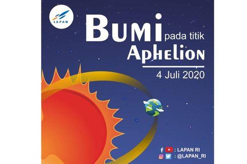 Besok, Posisi Bumi Berada pada Titik Aphelion, Apa Itu Aphelion?