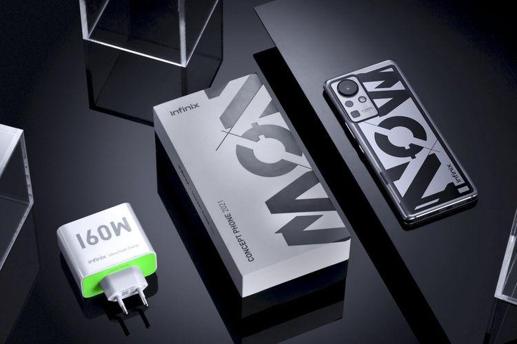 Ilustrasi Infinix Concept Phone 2021
