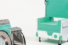 Kursi Unik Ini Dibuat dari Mesin Cuci Bekas....