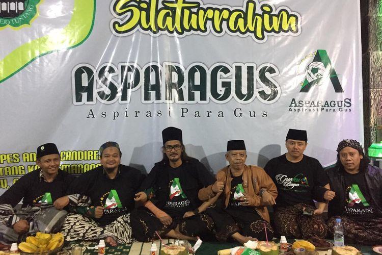 Asparagus saat pertemuan silahturahmi nasional.
