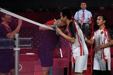 Kekaguman Ganda Putra Peraih Emas Olimpiade 2020 kepada Ahsan/Hendra