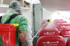 Cegah Corona, Wings Air Rutin Semprot Pesawatnya dengan Desinfektan
