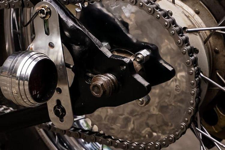Plating chrome pada komponen sepeda motor