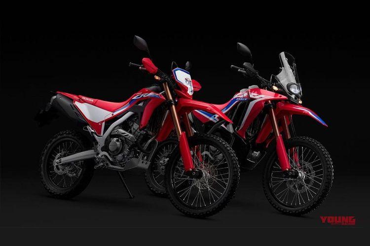 Honda CRF250 Rally dan  model CRF250L 2021.