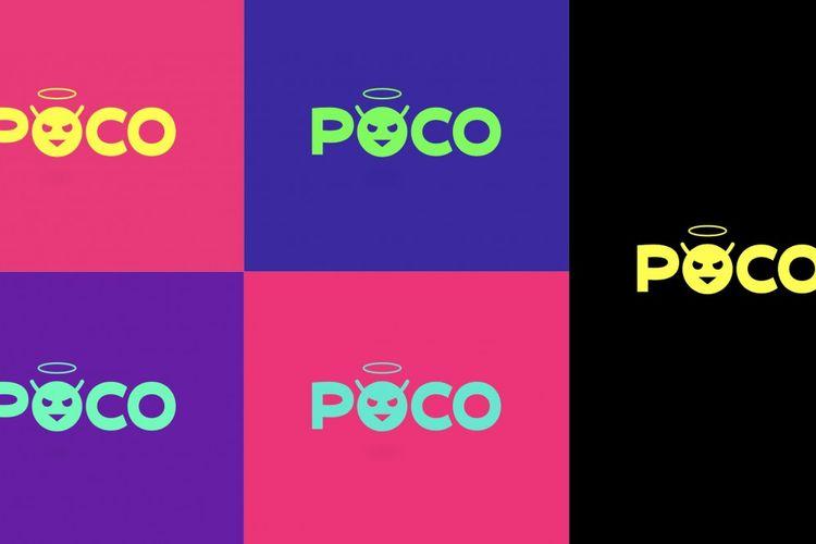 Ilustrasi logo terbaru Poco.
