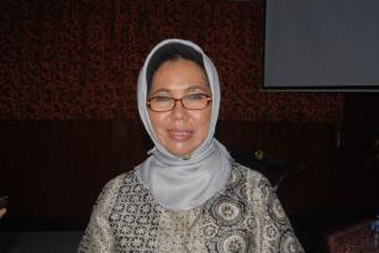 Kepala BPPPA Kepulauan Riau, Puji Astuti. Kompas.Com/slamet priyatin