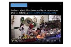 Viral Video Wali Kota Malang Rayakan Ulang Tahun Saat PSBB, Ini Klarifikasinya