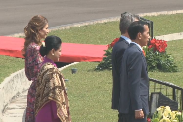 Presiden Joko Widodo, Rabu (25/6/2019) pagi, menerima Presiden Republik Argentina Mauricio Macri di Istana Presiden Bogor, Jawa Barat.