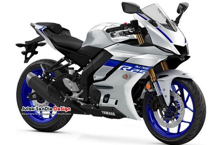 Rendering Yamaha R3/R25
