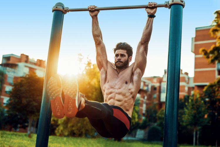 Olahraga melatih otot