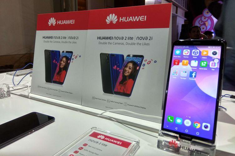 Smartphone Android Huawei Nova 2 Lite dibanderol Rp 2,5 juta di Indonesia.