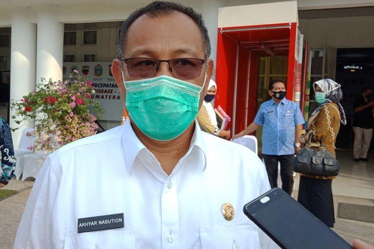 Pelaksana Tugas Wali Kota Medan Akhyar Nasution dikabarkan terinfeksi Covid-19 sepulangnya dari Jakarta, Selasa (4/8/2020)