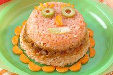 Resep Nasi Tim Telur Tomat, Sarapan untuk Keluarga