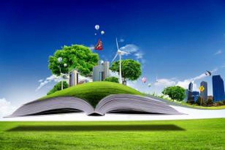 Ilustrasi. Sekolah ramah lingkungan