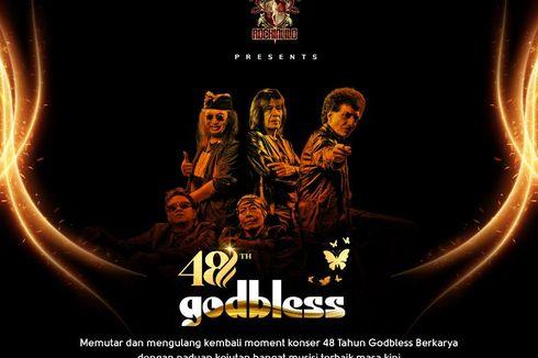Promotor Beberkan Alasan Konser 48 Tahun God Bless Digelar Dua Kali