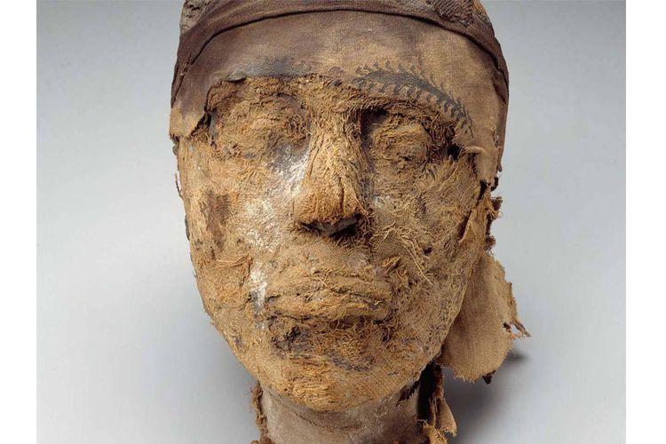 Kepala mumi Djehutynakht