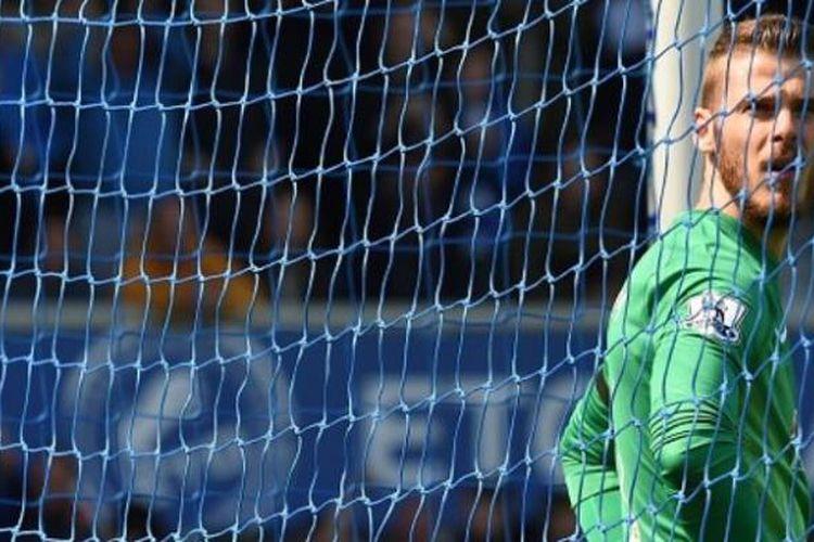 Kiper Manchester United asal Spanyol, David de Gea.