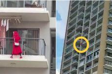 Wanita Ini Jatuh Saat Menari di Tepi Balkon Lantai 25, Penghuni Apartemen Buru-buru Pindah