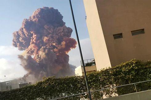 [VIDEO] Detik-detik Ledakan di Beirut, Lebanon