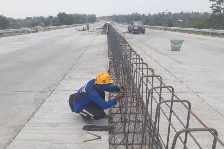 Pengerjaan proyek Tol Pandaan-Malang