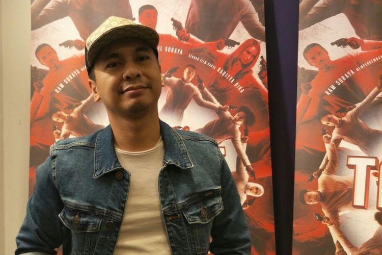 Raditya Dika saat ditemui di Kantor Soraya Intercine Film, Menteng, Jakarta Pusat, Rabu (2/5/2018).