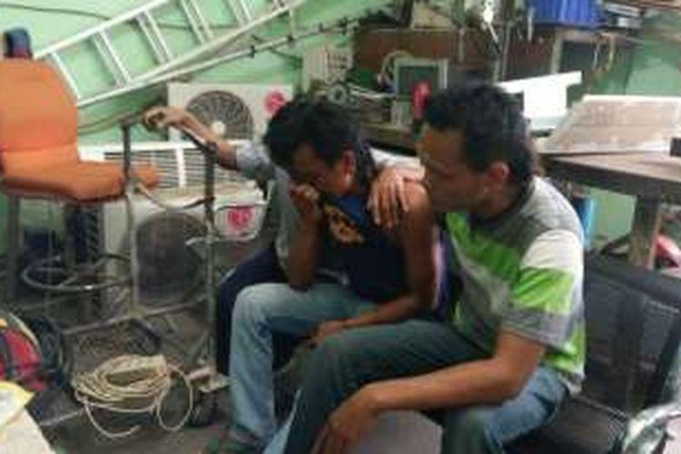 Rekan Mang Tia sopir yang menjadi korban tenggelamnya KMP Rafelia 2 di Selat Bali