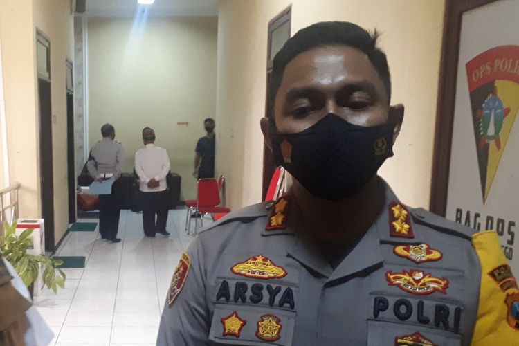 Arsya mengerahkan 60 anggota Polri membantu pengamanan Kasada.