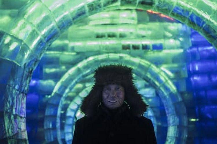Harbin International Ice and Snow Sculpture Festival.