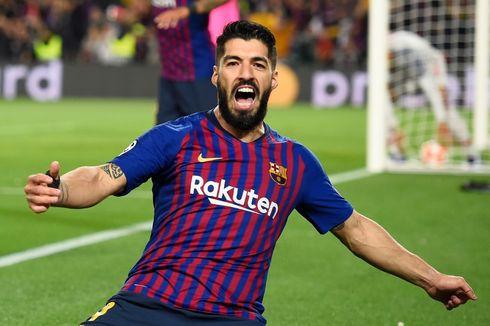 Dortmund Vs Barcelona, Tren Negatif Suarez di Liga Champions